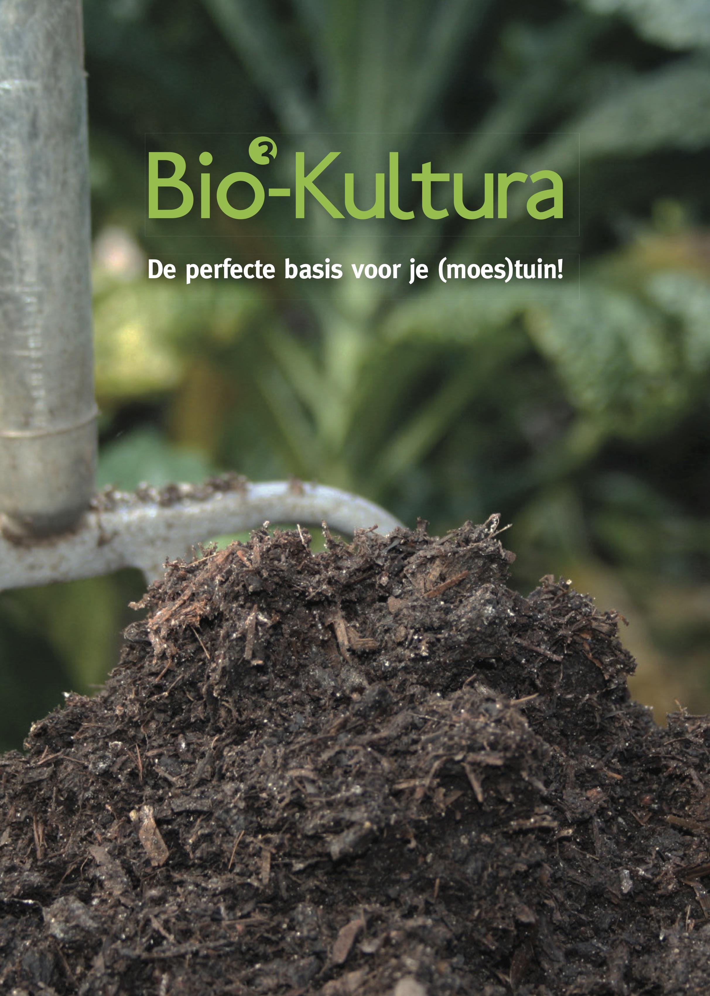 Biologische potgrond binnen en buiten