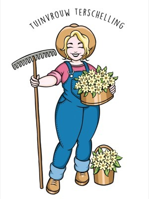 Tuinvrouw Terschelling